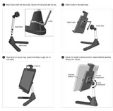 Arkon Countertop or Desktop Tablet Stand Most Devices - All In One Place With Us - 2