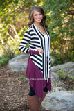 Casual Loose Knit Waterfall Cardigan Long Sleeve - All In One Place With Us - 4