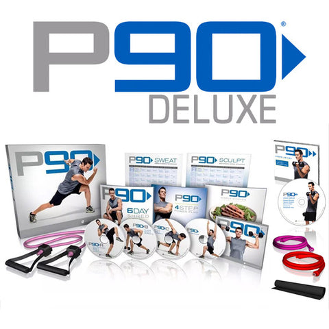 P90 Deluxe DVD Package - All In One Place With Us