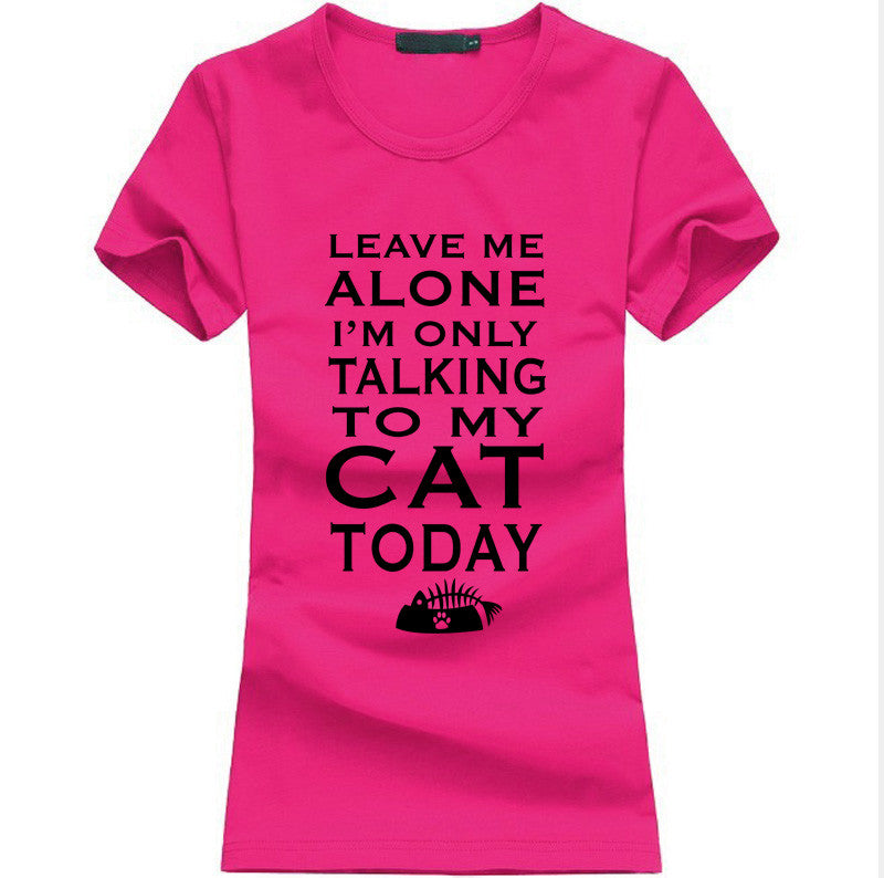 Leave Me Alone Women T-shirt - Limited Time Offer!! - 50% Off - All In One Place With Us - 2