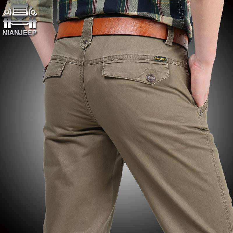 Big Size 30 40 42 Cotton Pants Casual  Men Clothing Military - All In One Place With Us - 2