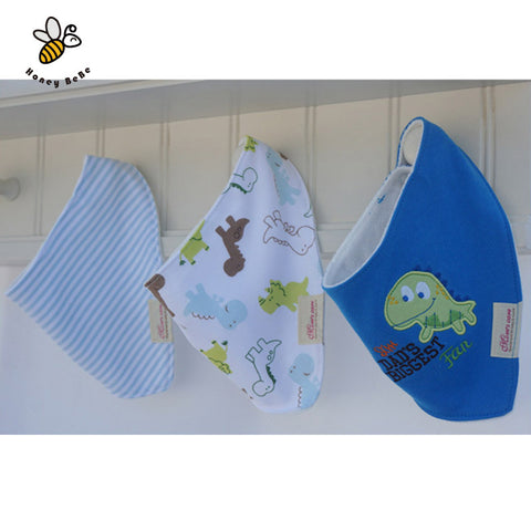 3Pcs/ Cotton Baby Bibs Boys Girls - FREE Shipping!! 50% Off - All In One Place With Us - 7