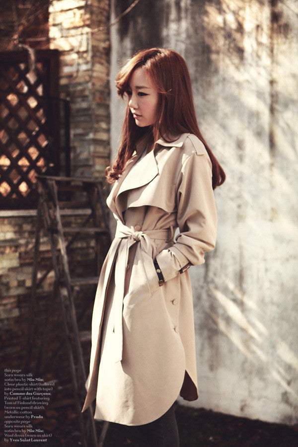 New Spring Fashion/Casual Women's Trench Coat - All In One Place With Us - 2