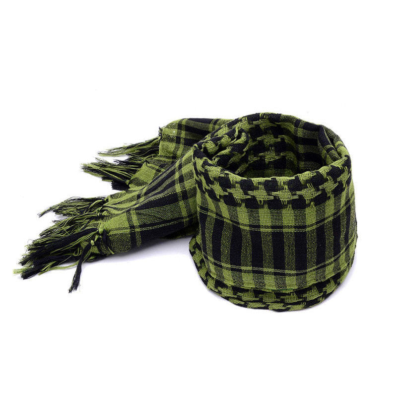 Men Winter Windproof Cotton Thin Scarf - All In One Place With Us - 2