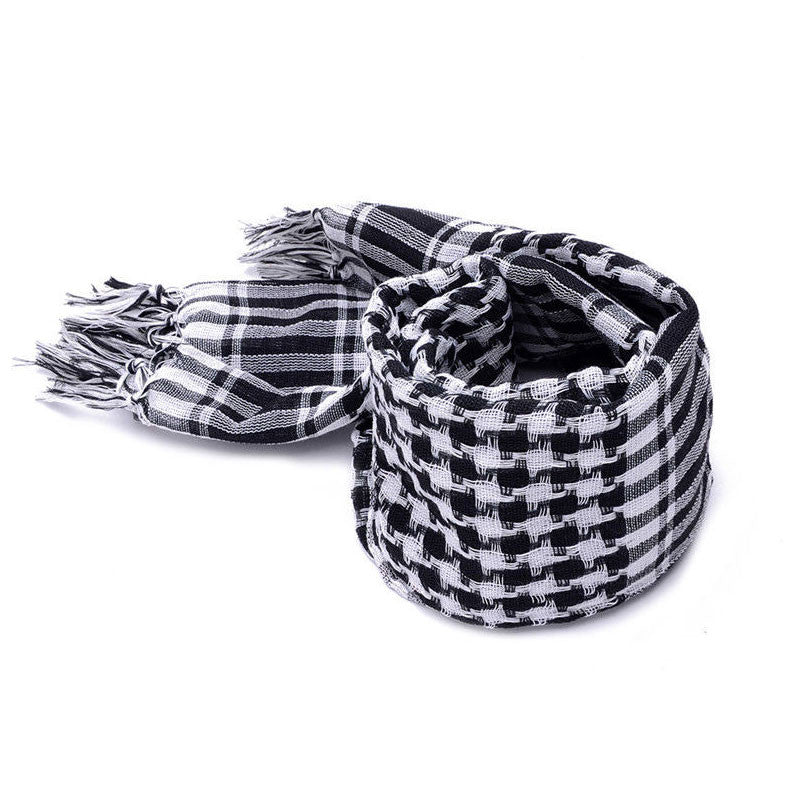 Men Winter Windproof Cotton Thin Scarf - All In One Place With Us - 3