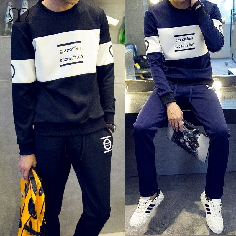 Men Hoodies Winter Brand Tracksuit Set - All In One Place With Us - 1