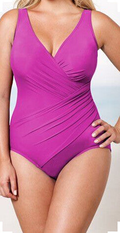 New One Piece Swimsuit Women Plus Size