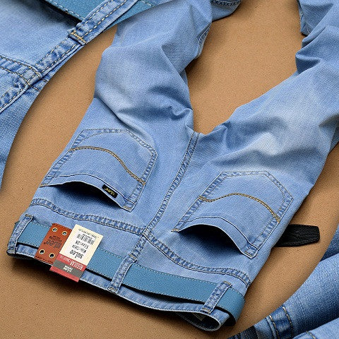Men Thin Fashion Casual Denim Jeans