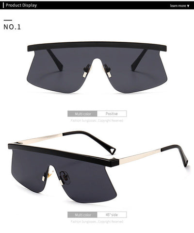 Big Frame Sunglasses - Women