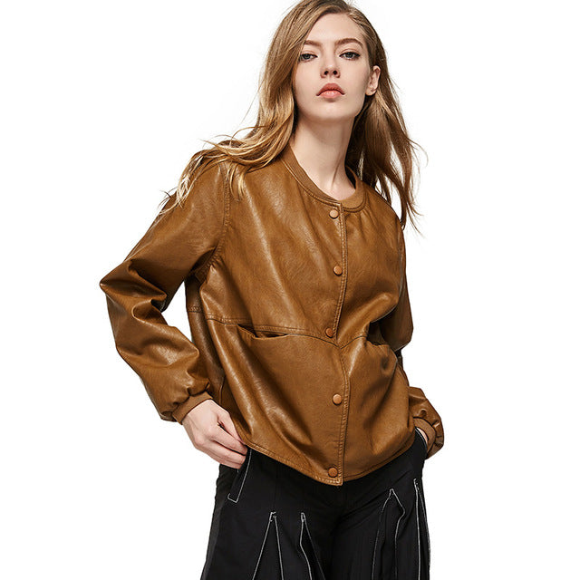 Autumn Leather Jacket