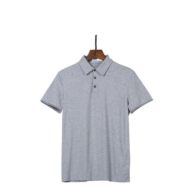 Casual Short Sleeve Polo Shirt