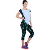 Fitness Mid Calf Elastic Pants Gym Running Leggins - Get Sexy!!- Various Colors - All In One Place With Us - 5