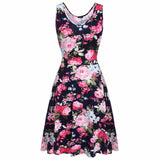 Women Brand Elegant Floral Dress - All In One Place With Us - 10