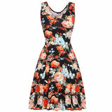 Women Brand Elegant Floral Dress - All In One Place With Us - 9