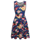 Women Brand Elegant Floral Dress - All In One Place With Us - 2