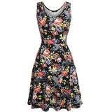 Women Brand Elegant Floral Dress - All In One Place With Us - 4