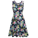 Women Brand Elegant Floral Dress - All In One Place With Us - 13