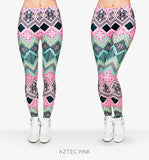 Women Printed Fashion Fitness Pant Leggings