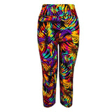 Fitness Mid Calf Elastic Pants Gym Running Leggins - Get Sexy!!- Various Colors - All In One Place With Us - 8