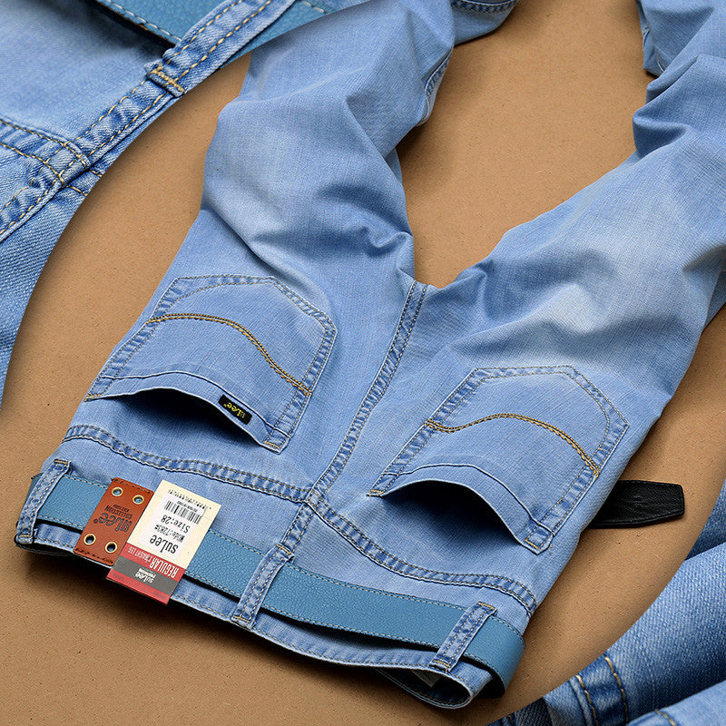 Ultra Light Thin  Fashion Brand Jeans - FREE SHIPPING - All In One Place With Us