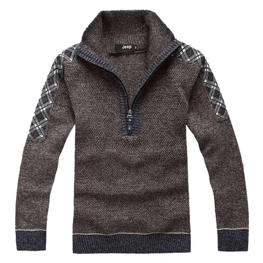 Men Fashion Design Cotton Sweater - All In One Place With Us - 1