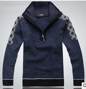 Men Fashion Design Cotton Sweater - All In One Place With Us - 7
