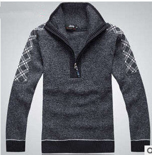 Men Fashion Design Cotton Sweater - All In One Place With Us - 2