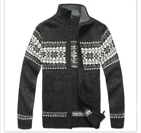Men Casual Brand Thick Sweater - All In One Place With Us - 6