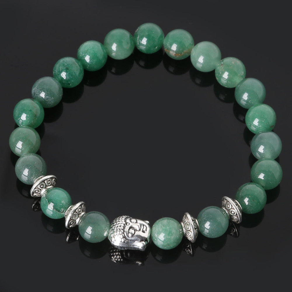 Men's Beaded Buddha Bracelet - All In One Place With Us - 15