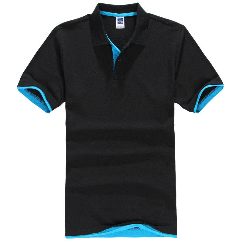 Men's Brand Polo Shirt Sport Cotton Short Sleeve - All In One Place With Us - 14