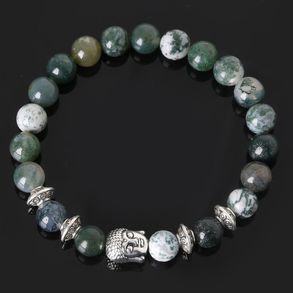 Men's Beaded Buddha Bracelet - All In One Place With Us - 2
