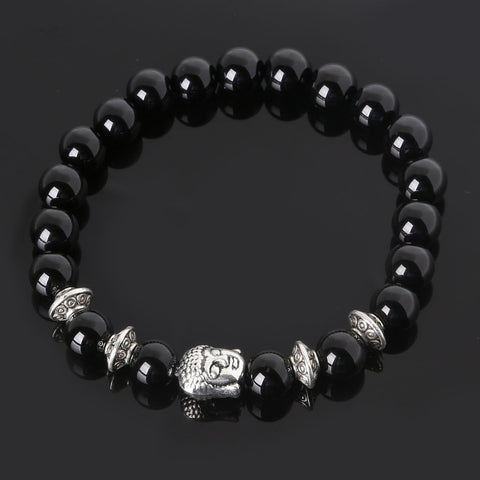 Men's Beaded Buddha Bracelet - All In One Place With Us - 4