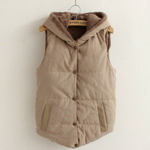Women Warm Thick Cotton Jacket Coat - All In One Place With Us - 7