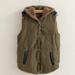 Women Warm Thick Cotton Jacket Coat - All In One Place With Us - 4