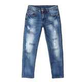 Men Stylish Work Casual Classic Slim Fit Jeans - All In One Place With Us - 1