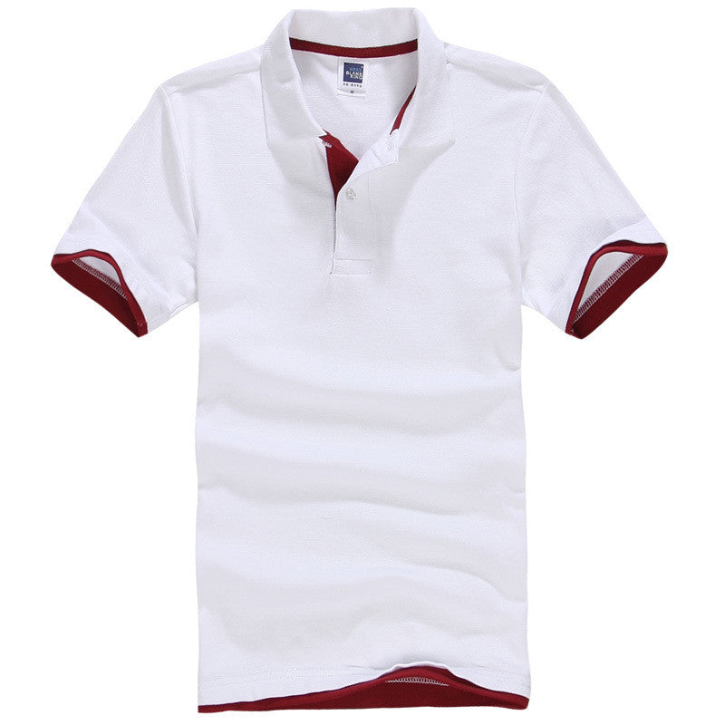 Men's Brand Polo Shirt Sport Cotton Short Sleeve - All In One Place With Us - 5