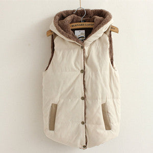 Women Warm Thick Cotton Jacket Coat - All In One Place With Us - 5