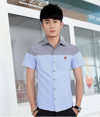 Men Casual Fashion Elegant Shirt - All In One Place With Us - 3
