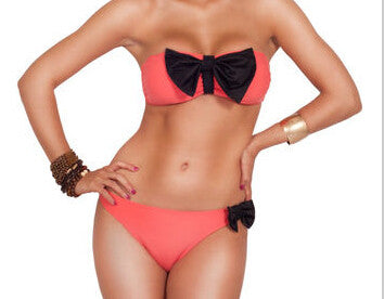 Women Fashion Sweet Ribbon Swimwear - All In One Place With Us - 6
