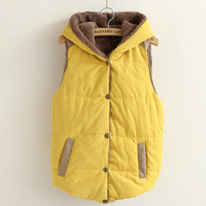 Women Warm Thick Cotton Jacket Coat - All In One Place With Us - 6