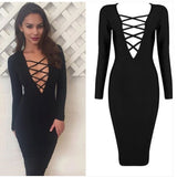 Women Sexy Party Night Club Dress - All In One Place With Us - 1