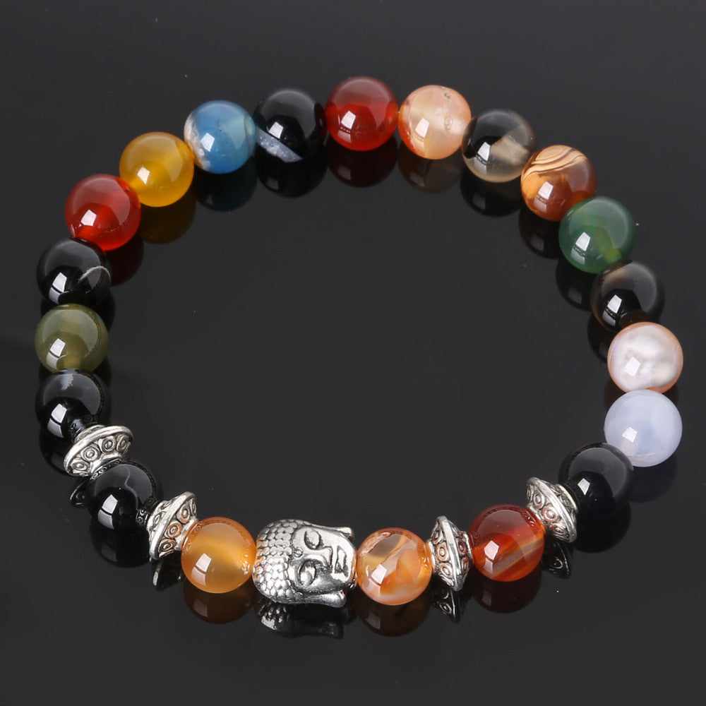 Men's Beaded Buddha Bracelet - All In One Place With Us - 3