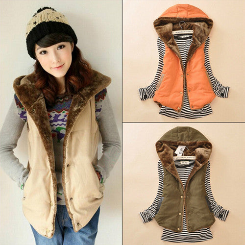 Women Warm Thick Cotton Jacket Coat - All In One Place With Us - 1