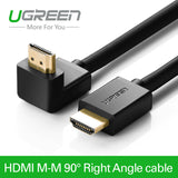 Ugreen High Speed HDMI Cable 90 Degree Right Angel - All In One Place With Us - 1
