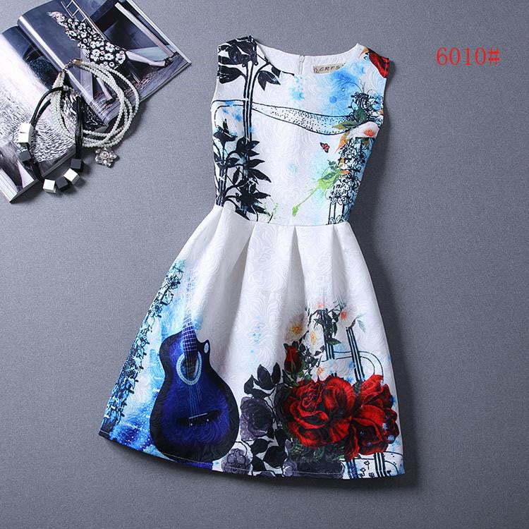 Bottoming Dress Women Summer Style Dress - All In One Place With Us - 8