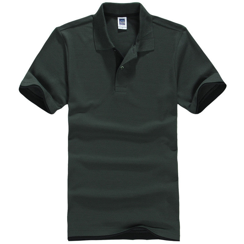 Men's Brand Polo Shirt Sport Cotton Short Sleeve - All In One Place With Us - 2