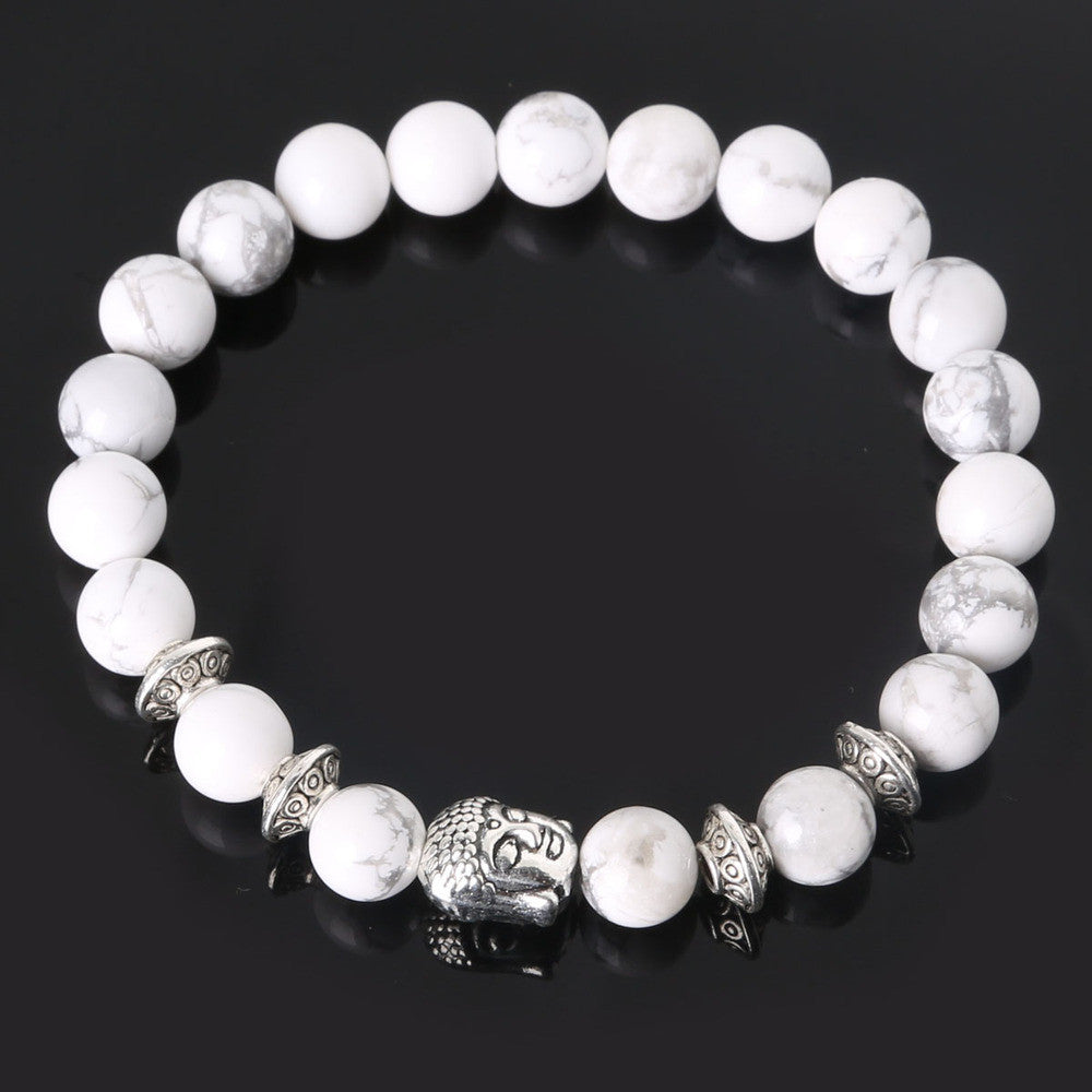 Men's Beaded Buddha Bracelet - All In One Place With Us - 6