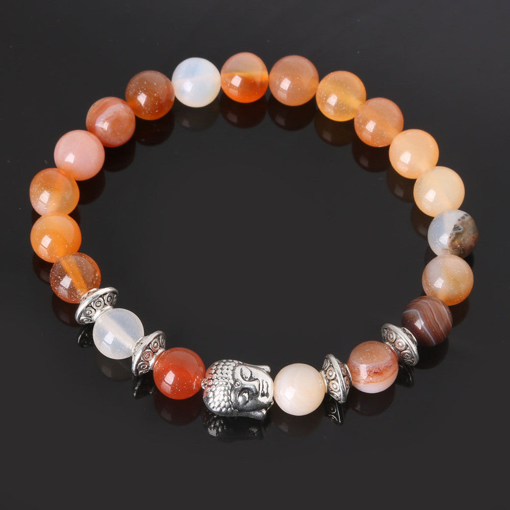 Men's Beaded Buddha Bracelet - All In One Place With Us - 11