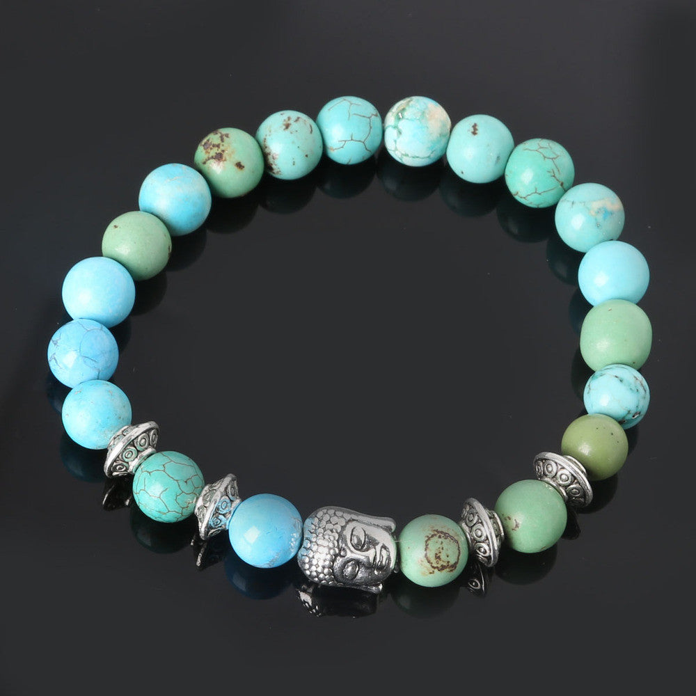Men's Beaded Buddha Bracelet - All In One Place With Us - 16