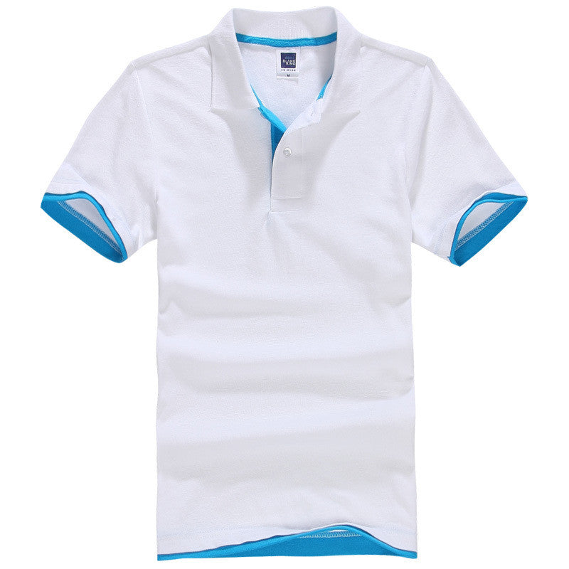 Men's Brand Polo Shirt Sport Cotton Short Sleeve - All In One Place With Us - 3